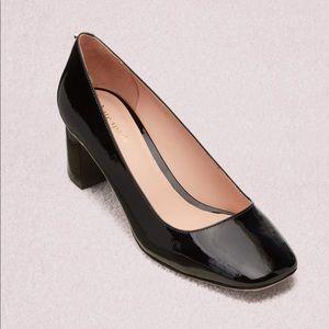 Kate Spade Kylah black block heel size 10